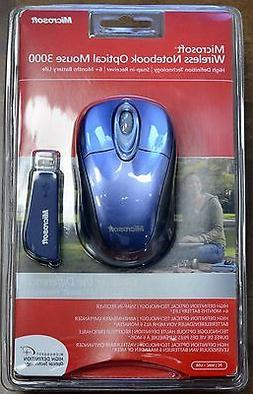 Microsoft 2.4GHz Wireless Mouse 3000  BX3-00020