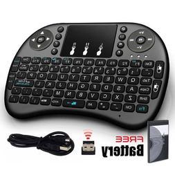 Simply Silver - Mini 2.4G Wireless Keyboard Remote for Raspb