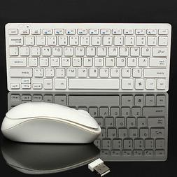 Slim Keyboard Wireless 2.4G Mouse Combo Kit For PC Windows L