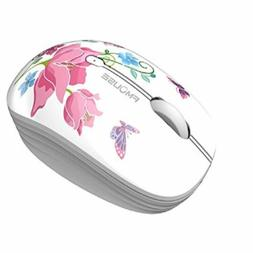 TENMOS M101 Wireless Cute Optical Mouse Silent Mini w/ Nano