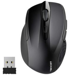 TeckNet Pro 2.4G Ergonomic Wireless Mobile Optical Mouse wit
