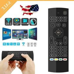 Wireless Fly Air Mouse Keyboard Remote Control MX3 for Smart