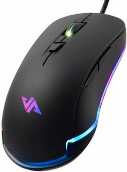 Wireless Mouse, Adjustable DPI, Ergonomic, with 4 Buttons, N
