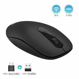 Jelly Comb wireless mouse new 2.4G USB / type-C mouse