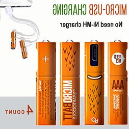 Smartoools AA & AAA Rechargeable Battery Ni-MH NiMH By Micro