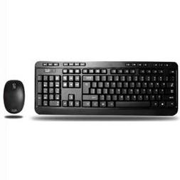 Adesso WKB-1300UB 2.4GHz Wireless Desktop Keyboard and Mouse