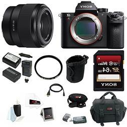Sony Alpha a7RII Mirrorless Digital Camera  Bundle