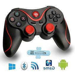 A-szcxtop Android Bluetooth Gamepad wire wireless Rechargeab