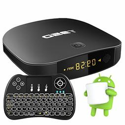 WISEWO Android TV Player Smart TV Box Quad Core 3D 4K Ultra