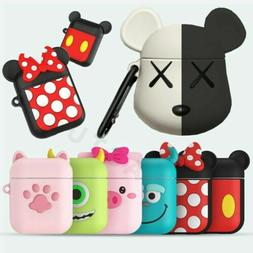 Anime Silicone Cartoon Soft Wireless Earphone Case Cover for