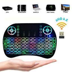 backlight 2 4g mini wireless keyboard mouse
