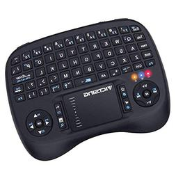 VicTsing 2.4GHz Mini Wireless Keyboard with Touchpad Mouse B