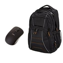 AmazonBasics Laptop Backpack , with Wireless Mouse