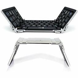 IClever Bluetooth Keyboard, Foldable Keyboard & Mice Accesso