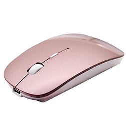 Bluetooth Mouse, DINOWIN 3.0 Portable Mouse with Rechargeabl