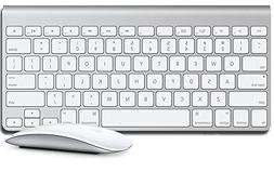 Apple Wireless Keyboard w/ Magic Mouse