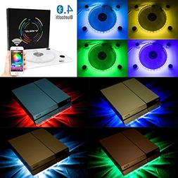 WOWLED Bluetooth Wireless Control PC Case Cooling Fan USB RG