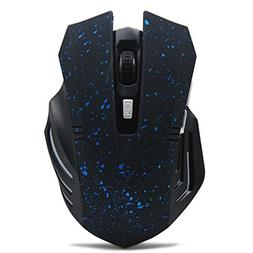 Tsmine Wireless Silent Gaming Mouse Noiseless Plus Large Mou