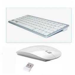 Bluetooth Wireless Keyboard & 2.4G Wireless Mouse USB Receiv