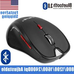 Bluetooth Wireless Mouse Optical Mice for PC Mac Android OS