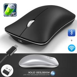 Bluetooth Wireless Rechargeable Optical Mouse Mice For Apple