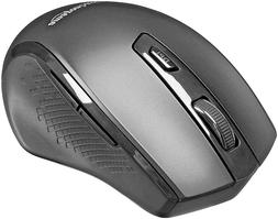 BRAND NEW AmazonBasics Ergonomic Wireless Mouse - DPI Adjust