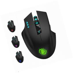 SROCKER C10s 2.4GHz Wireless Silent Click Gaming Mouse/Mice