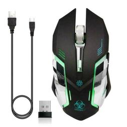 VEGCOO C9s  Wireless Gaming Mouse, Rechargeable Black
