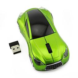 Sport Car Shape Mouse 2.4GHz Wireless Optical Gaming Mice 3