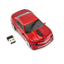 Usbkingdom 2.4GHz Cool 3D Sport Car Shaped Wireless Mouse Er