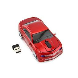 Sport Car Shape 2.4Ghz Wireless Mouse Optical Gaming Mouse C
