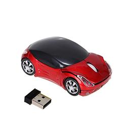Mchoice 2.4GHz 1200DPI Car Shape Wireless Optical Mouse USB