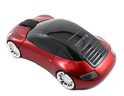 SANOXY 2.4G Sports Car Shaped 2.4G Wireless Optical Mouse 50