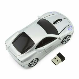 Car Wireless Mouse 2.4G Ferrarl Usb Gaming Mice for Pc Lapto