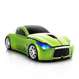 Usbkingdom Cool Sport Car Shape 2.4GHz Wireless Mouse Optica