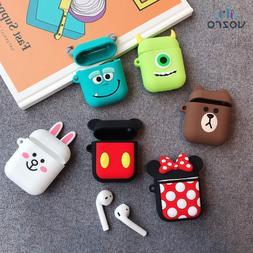 Cartoon Wireless Bluetooth Earphone Headphones Protective Ca