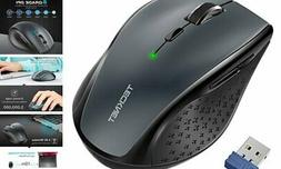 Classic 2.4G Portable Optical Wireless Mouse with USB Nano R