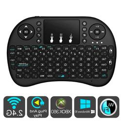 Backlit Wireless Keyboard Remote+Touchpad Mouse 2.4GHz for A
