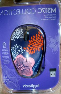 color collection m317c wireless mouse beautiful forest