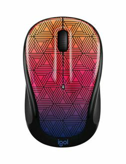 Logitech Color Collection Wireless Mouse - Urban Sunset