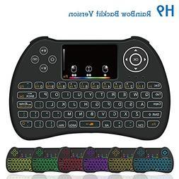 Dupad Story  H9 2.4GHz Colorful Blacklit Mini Wireless Keybo
