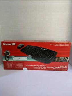 Microsoft Communications Pack 3000-wireless mouse & keyboard