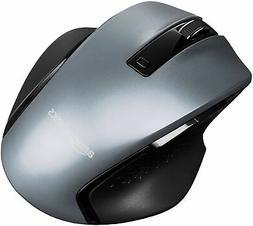 AmazonBasics Compact Ergonomic Wireless PC Mouse with Fast S