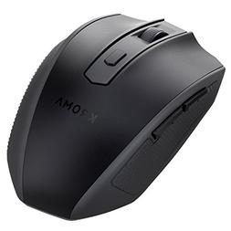Kroma CompactErgo 2.4GHz Wireless Portable Mobile Mouse Opti