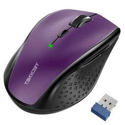 TeckNet Computer Wireless Gaming Mouse 2.4G 2400 DPI Optical