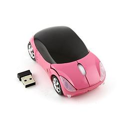 Cool 3D Sport Car Shape Mouse 2.4GHz Wireless Mouse Optical