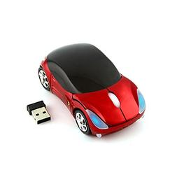 CHUYI Cool Sport Car Shaped Mouse 2.4GHz Wireless Car Mouse