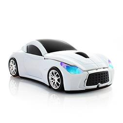Usbkingdom Cool Sport Car Shaped 2.4GHz Wireless Mouse Optic
