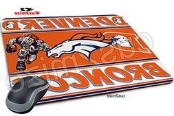 Denver Broncos Mouse Pad Mousepad, Sold By Cus2mize 07237366