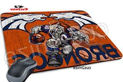 Denver Broncos Mouse Pad Denver Broncos Mousepad, Sold By Cu